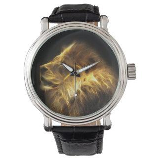 Fractal lion watch