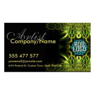Fractal LoGo Business Card