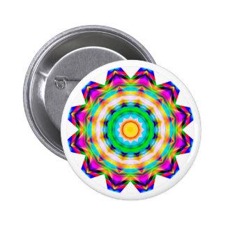 Fractal Mandala Buttons