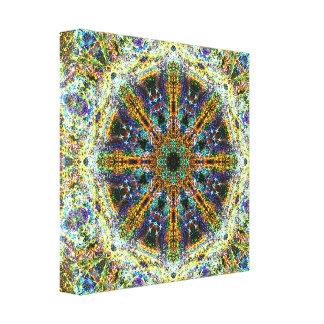 Fractal Mandala Canvas Print