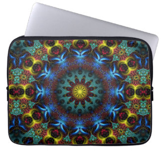 Fractal Mandala Lace Art Notebook Laptop Sleeve