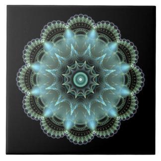 Fractal Mandala Large Square Tile