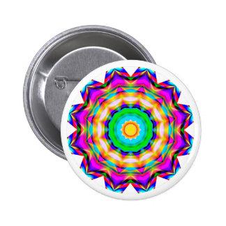 Fractal Mandala Pin