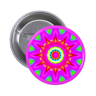 Fractal Mandala Pins