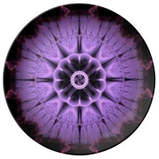 Fractal Mandala Plate