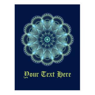 Fractal Mandala Postcard