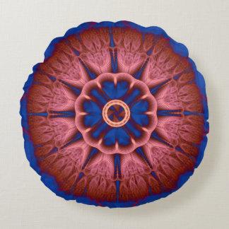 Fractal Mandala Round Cushion