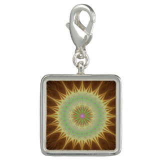 Fractal mandala sun