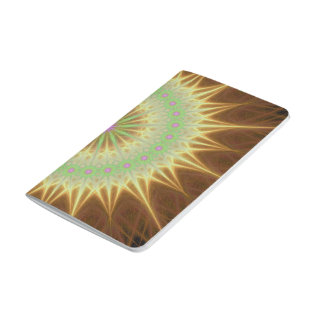Fractal mandala sun journal