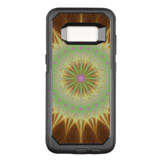 Fractal mandala sun OtterBox commuter samsung galaxy s8 case