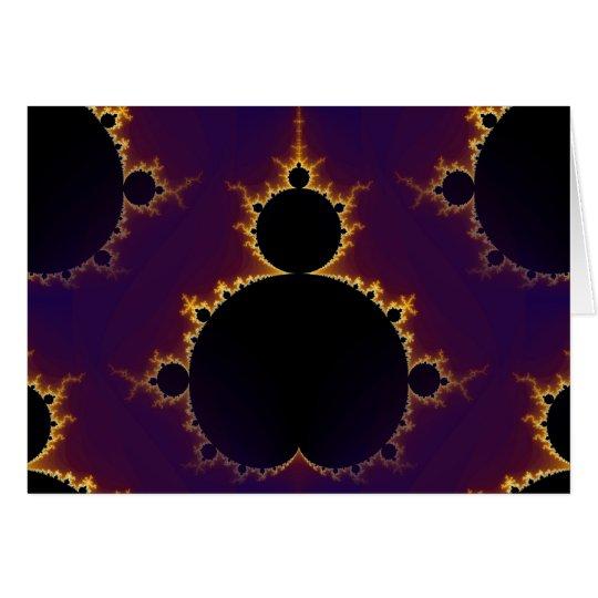 Fractal Mandelbrot Card