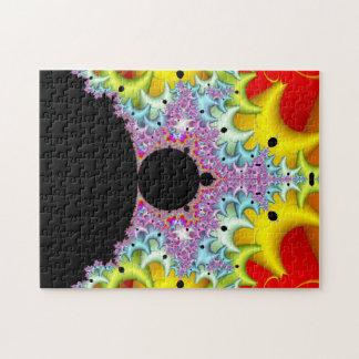Fractal Mandelbrot Multicolor Puzzle