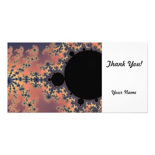 Fractal Mandelbrot Photo Card