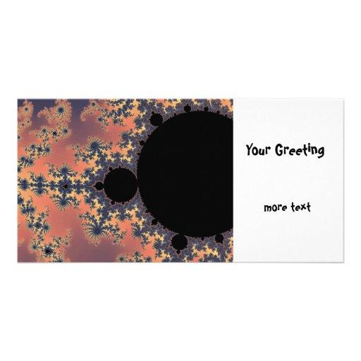 Fractal Mandelbrot Custom Photo Card
