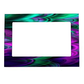Fractal Marble 4-2 Picture Frame Magnet