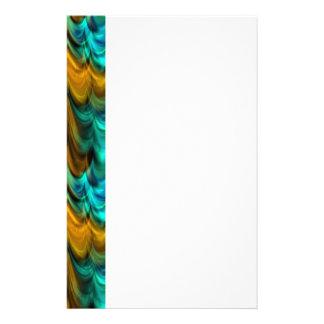 Fractal Marble 4-4 Envelope Stationery