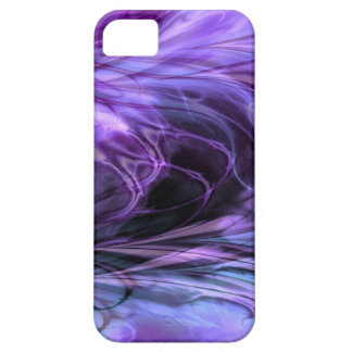 Fractal Marble Purple iPhone 5 Cover