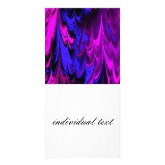 fractal marbled 13 (L) Photo Cards