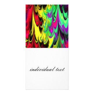 fractal marbled 14 (L) Photo Cards
