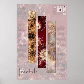 Fractal Math & Art Poster