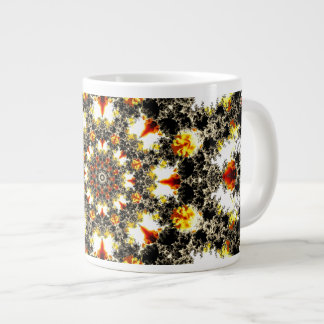 Fractal Morning Large Coffee Mug