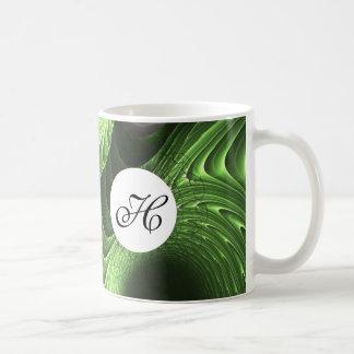 Fractal Basic White Mug
