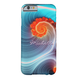 Fractal Ocean Wave iPhone 6 Case