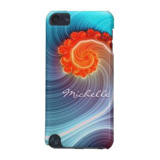 Fractal Ocean Wave iPod Touch Case