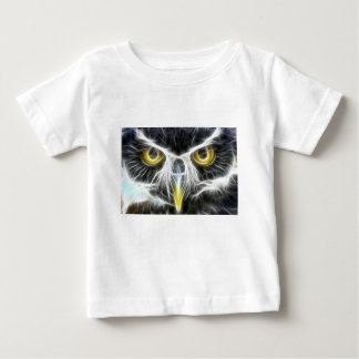 fractal owl design baby T-Shirt