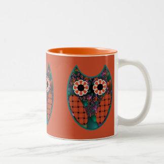Fractal Owl Mug