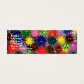 Fractal Paintballs Business Card