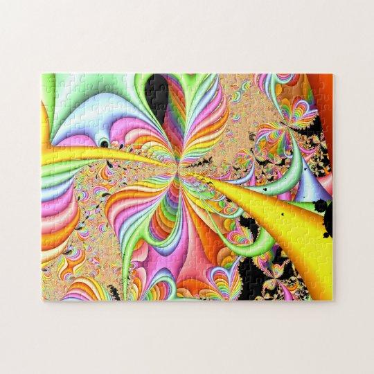 Fractal Pastel Design Jigsaw Puzzle