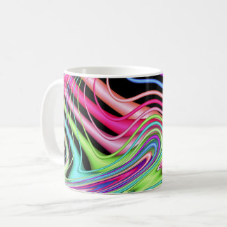 Fractal Pastel Swirls Coffee Mug