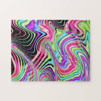 Fractal Pastel Swirls Jigsaw Puzzle