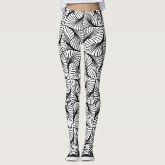 Fractal Pattern Paradise Leggings