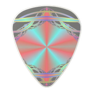 Fractal Pattern Polycarbonate Guitar Pick