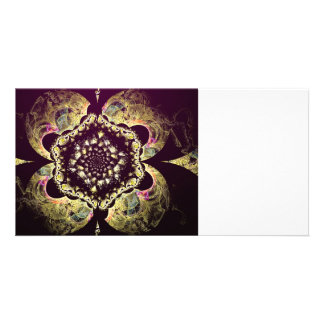 Fractal - Persian Floral Motif Photo Cards