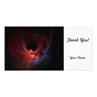 Fractal Photo Greeting Card