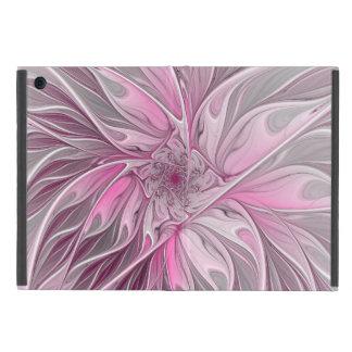 Fractal Pink Flower Dream, Floral Fantasy Pattern iPad Mini Case