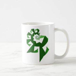 Fractal Power - Green Mug