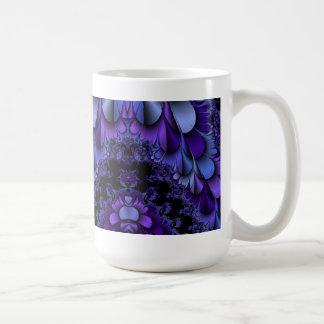 Fractal Purple Petals Cup