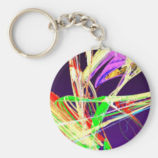 Fractal - Pussy Willows Keychain