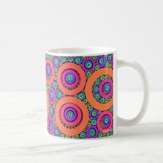 fractal rings coffee mug