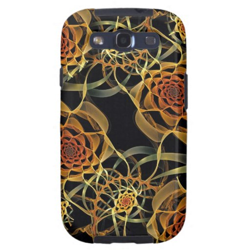 Fractal Roses, Samsung Galaxy S3 Vibe Case Galaxy S3 Cover