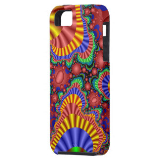 Fractal Scrambled Eggs iPhone 5 Cases