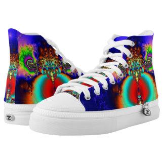 Fractal Shoes, Buddha High Tops