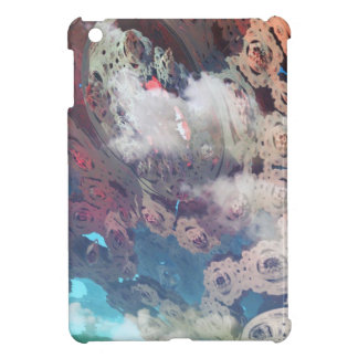 Fractal sky view cover for the iPad mini