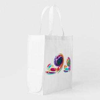 Fractal - Snail Family Reusable Grocery Bag