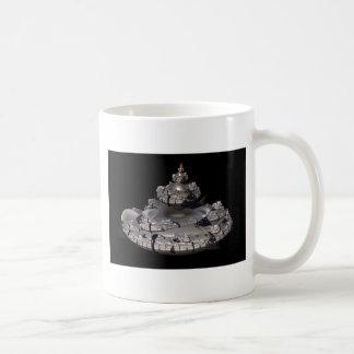 Fractal Spaceship Coffee Mug