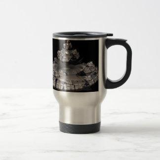 Fractal Spaceship Travel Mug